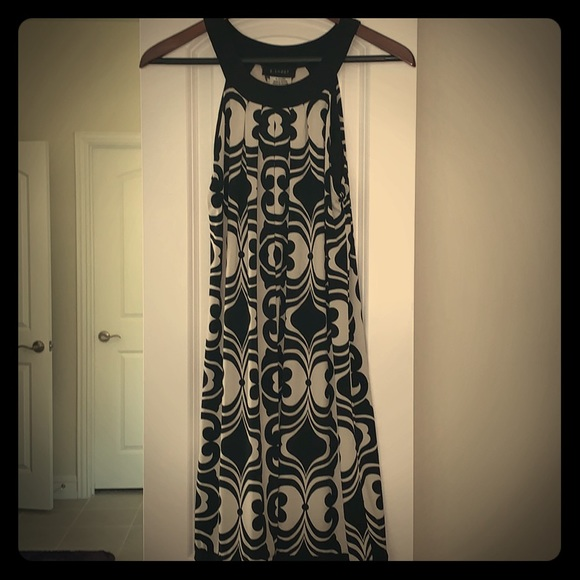 B. Smart Dresses & Skirts - Fun black and white halter dress!